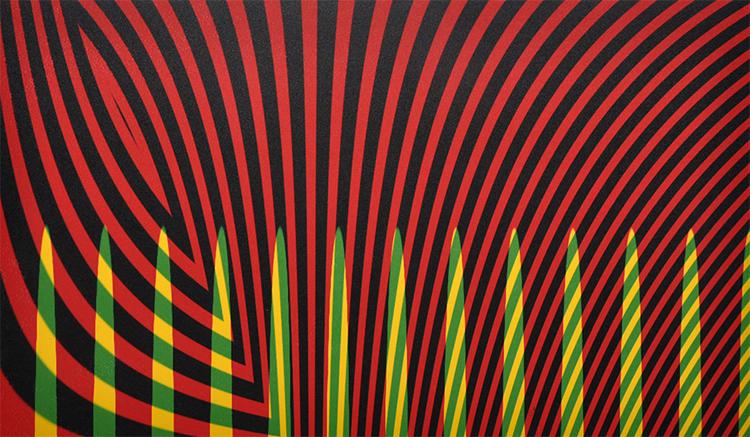Alan Singer,  Reduce Cosmic Force   ,Transfer monoprint, $800