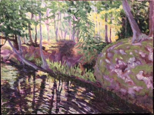 Denise Heischman,  Quie t, Acrylic, $325