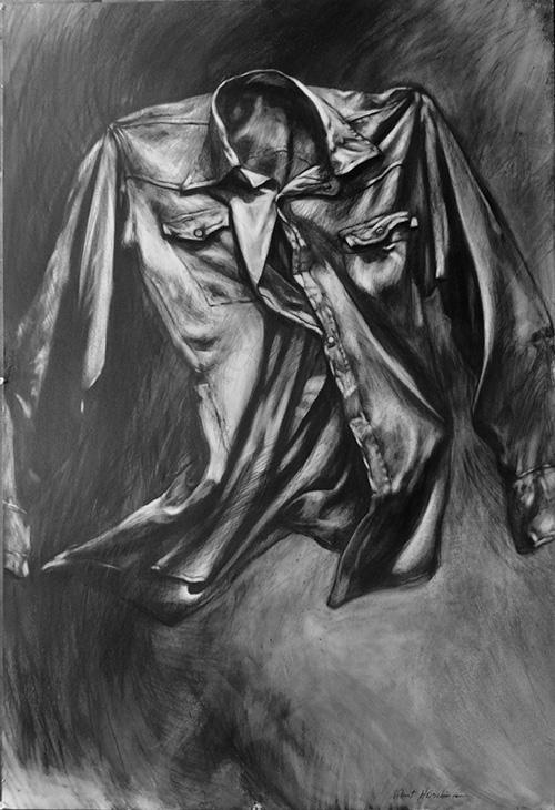 Robert Heischman,  Nightshirt 1, Graphite, $1800.