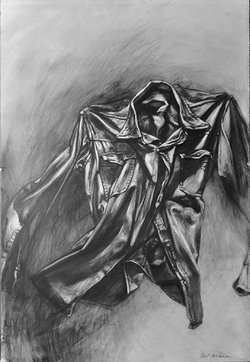 Robert Heischman,  Nightshirt 2,  Graphite , $1800.