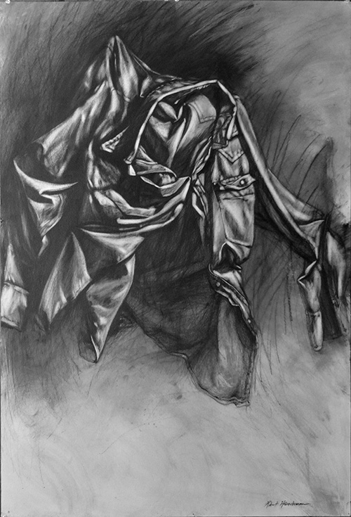 Robert Heischman,  Nightshirt 3, Graphite , $1800.