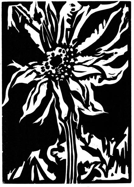 Sunflower by Victoria Brzustowicz