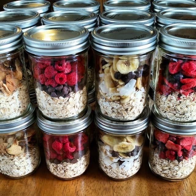 Easy Breakfast Meal Prep: Instant Oatmeal