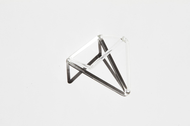 Pyrex glass shadow sculpture. 2014.  Photo: Clemens Kois.