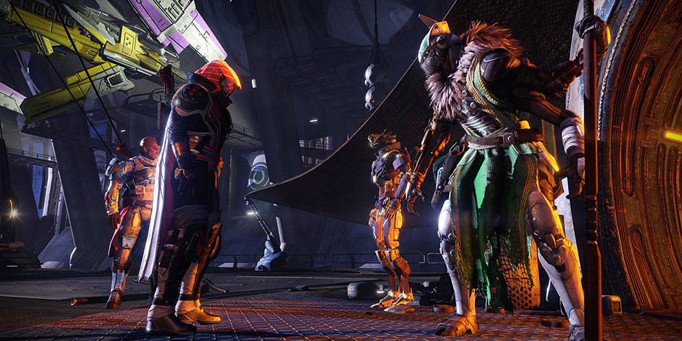 Destiny's new social area, Vestian Outpost.