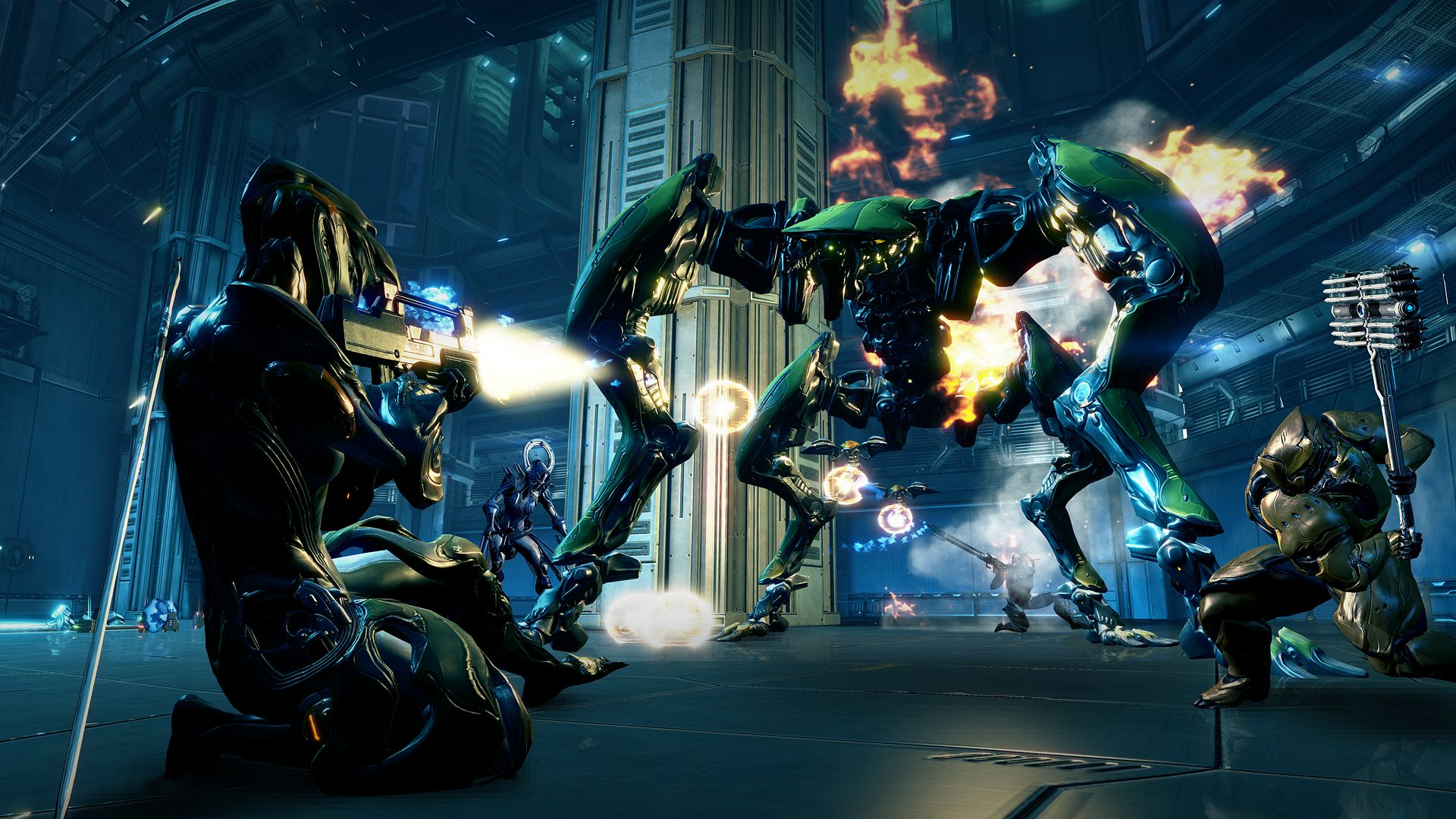 This is Warframe, Digital Extreme's other game.