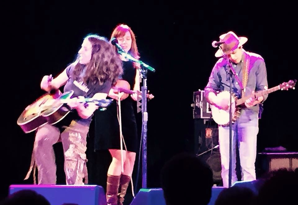 Ani DiFranco & Mike + Ruthy at the Tarrytown Music Hall.