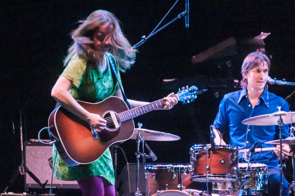 Photo by Bob Smyth, The Capitol Theater, 2/27/16. Opening for the B-52s.