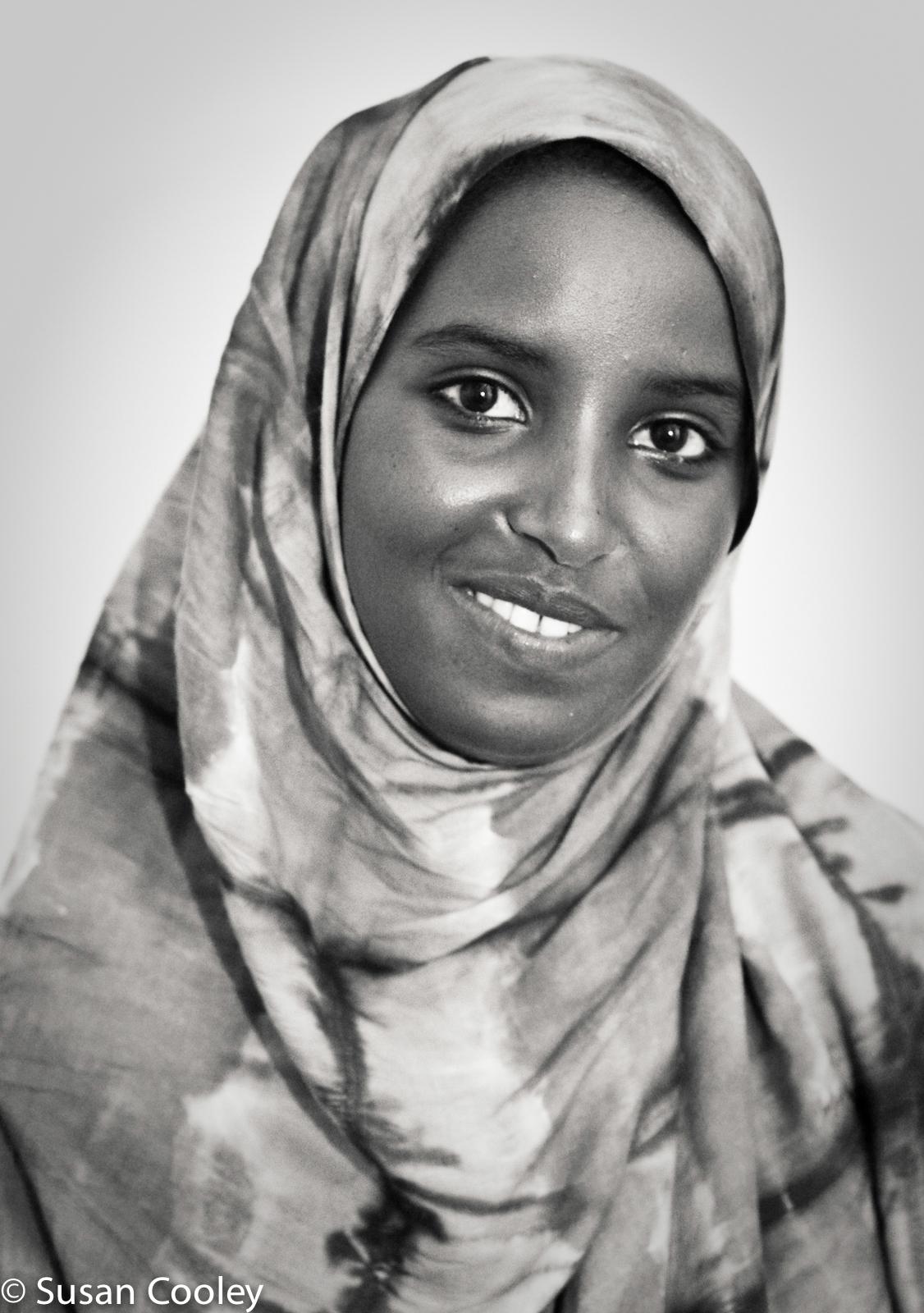 Somali refugee.