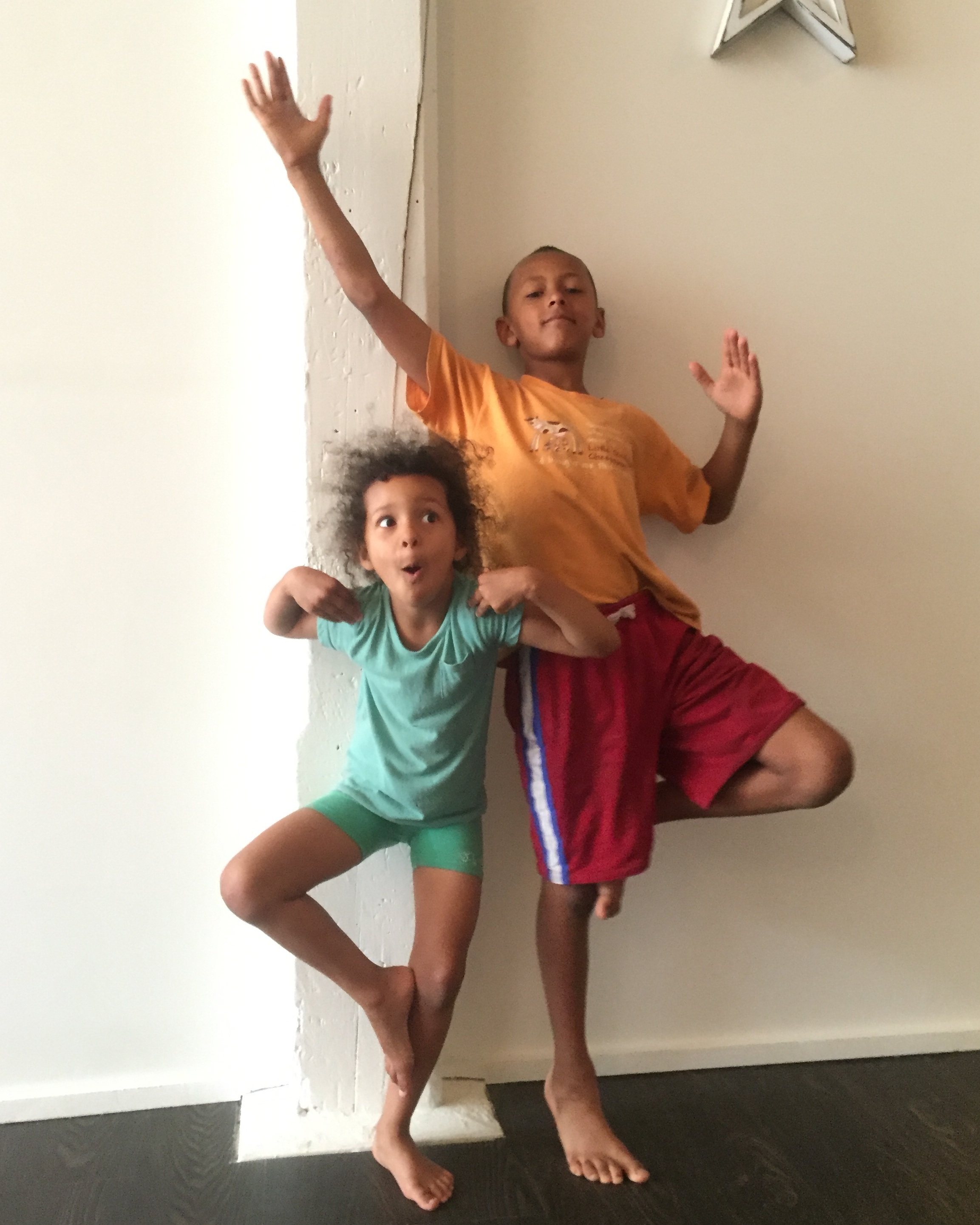 Kids Yoga in KW - tree pose