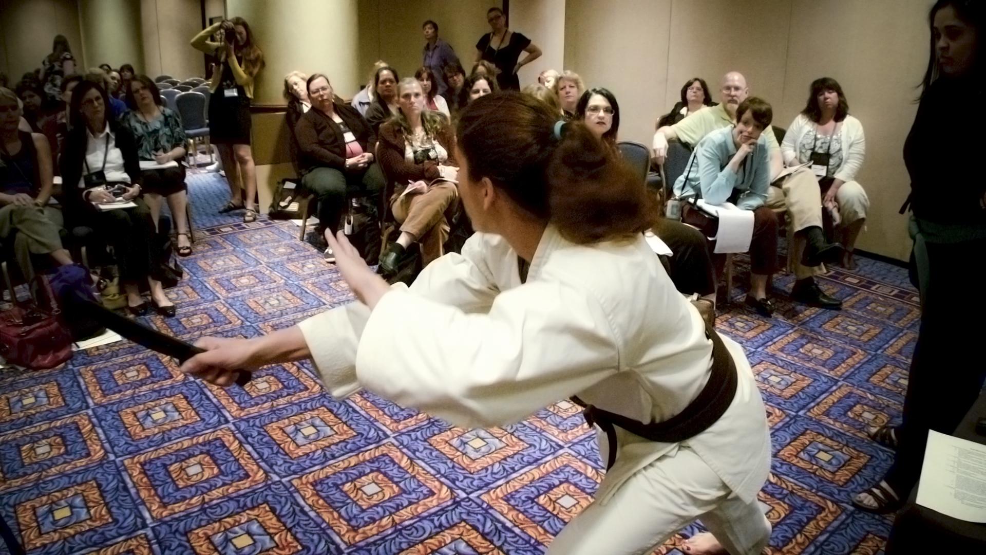 """Writing fight scenes"" workshop"