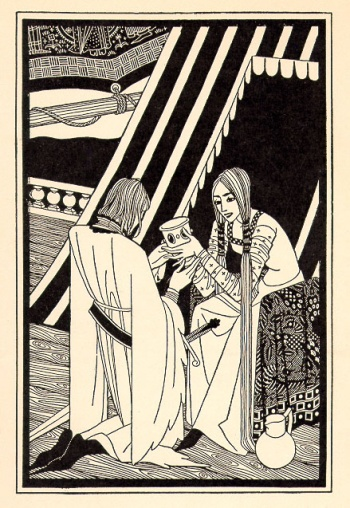 Rendering of Tristan and Isolde by  Mac Harshberger