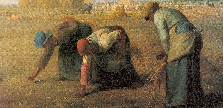 Millet_Gleaners