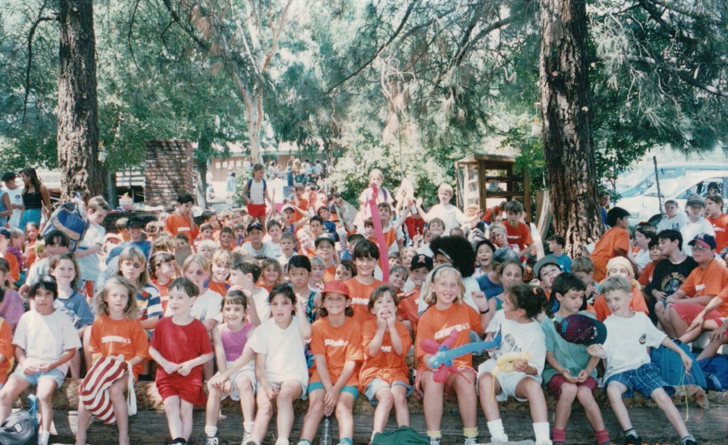 Campfire at Summerkids in the mid-1990s.