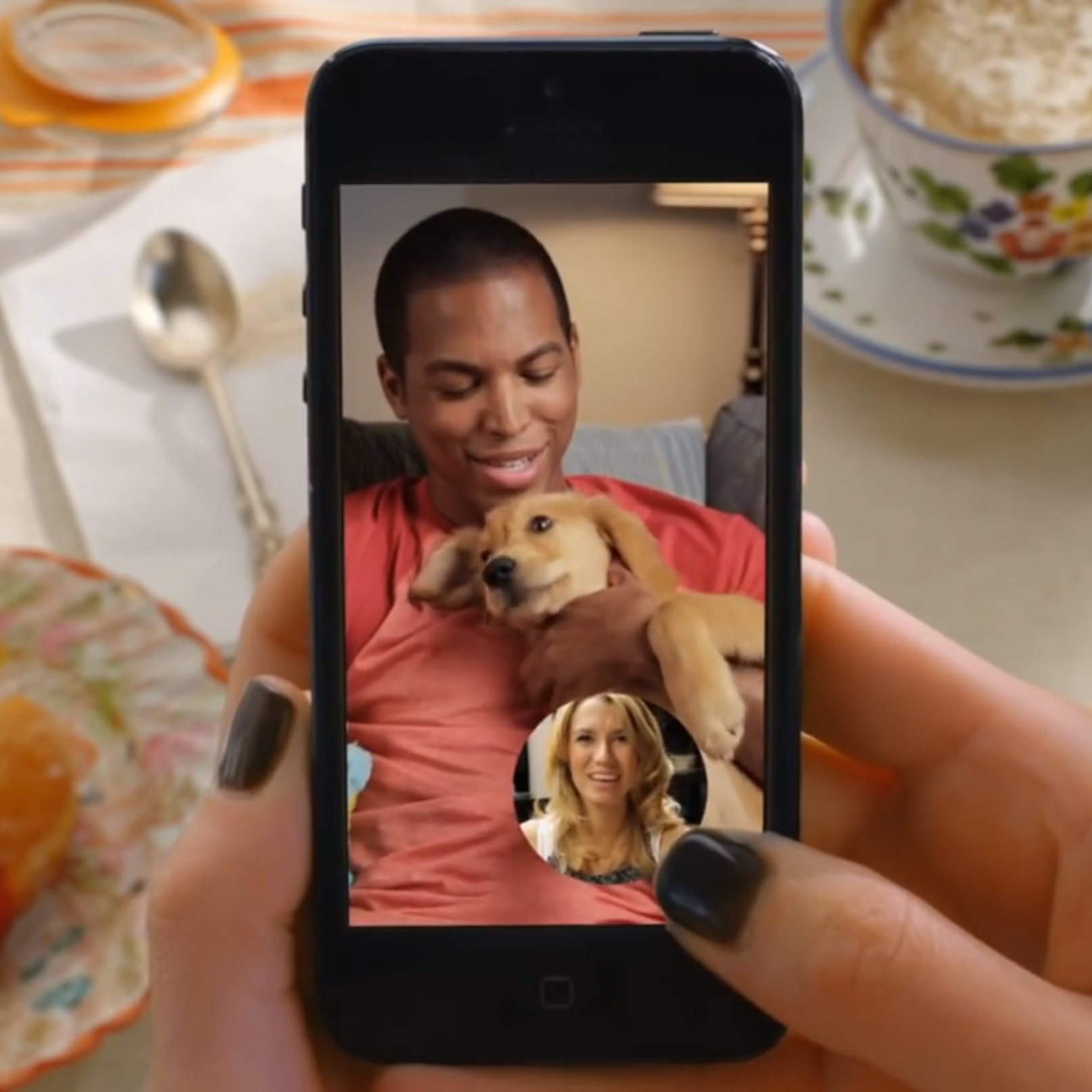 Snapchat      This commercial campaign for Snapchat was sent to all 400 million Snapchat mobile users. It had over a 2 million views online, was featured in the NYTimes, Time Magazine, WSJ, etc. -- and in 24 hours became Snapchat's most viewed ad ever in that time span.