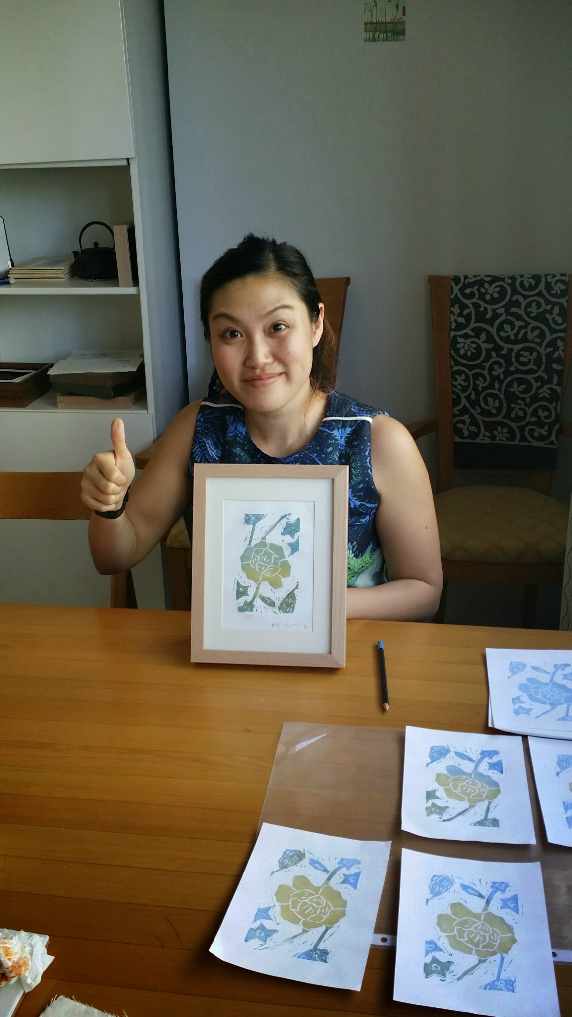 Japanese-woodblock-singapore-two-colours