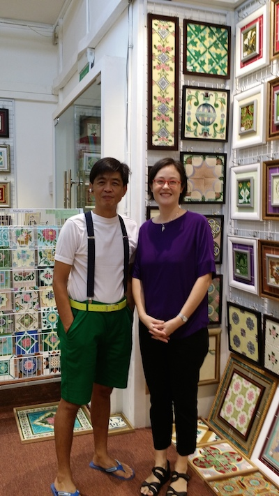 Victor Lim and Jennifer Lim...surnames that everyone remembers in Singapore!