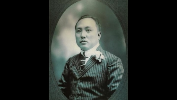 Portrait of Mr. Lim Nee Soon, President of Singapore Chinese Chamber of Commerce, 1900