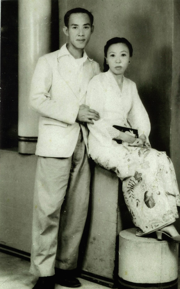My Hokkien grandfather Lim Chong Lay and Peranakan grandmother Tan Im Neo. Both were born in Singapore.