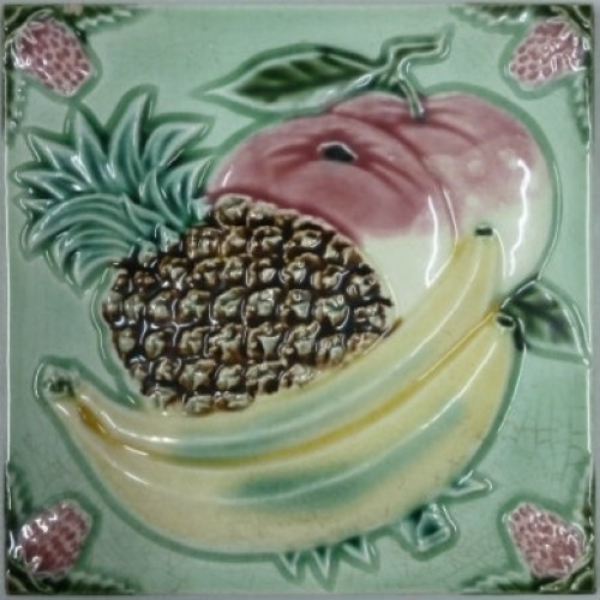 Very southern Chinese/southeast asian fruits - pineapples and bananas!