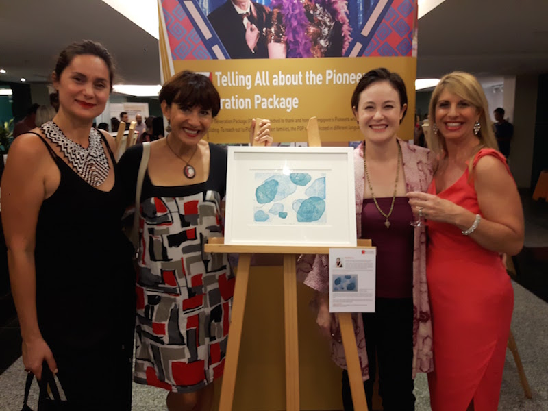 With friends including Linda Preece - a  Business Womens Network Singapore  friend!