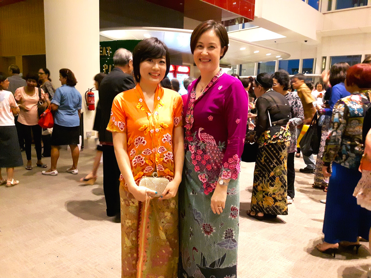 With Della Ong, the elegant owner of    Little Nyonya Batik   .