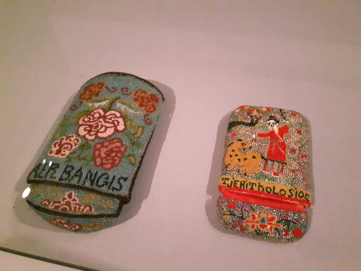 From a past exhibition at the Peranakan Museum Singapore.