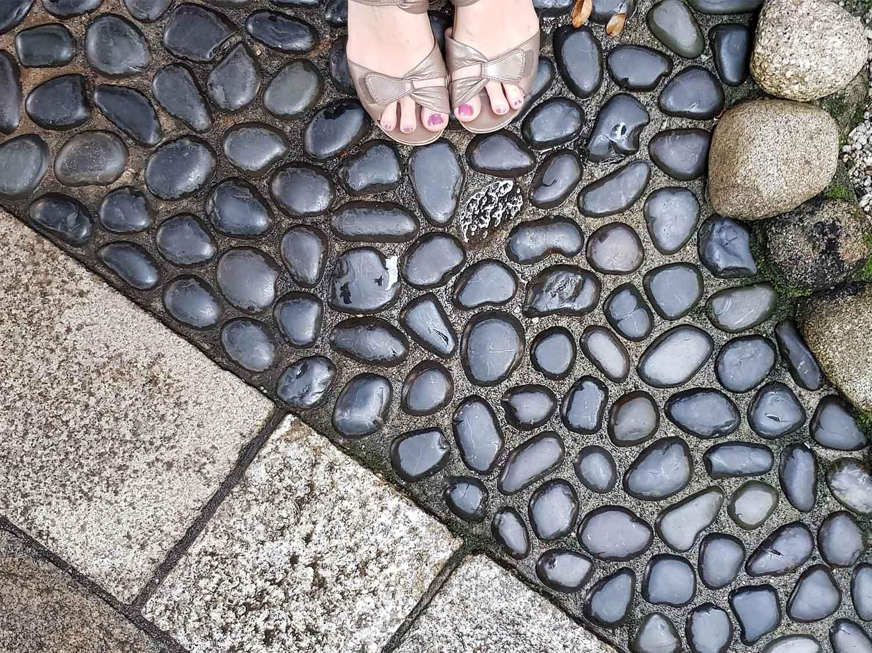 Footselfie in Kyoto