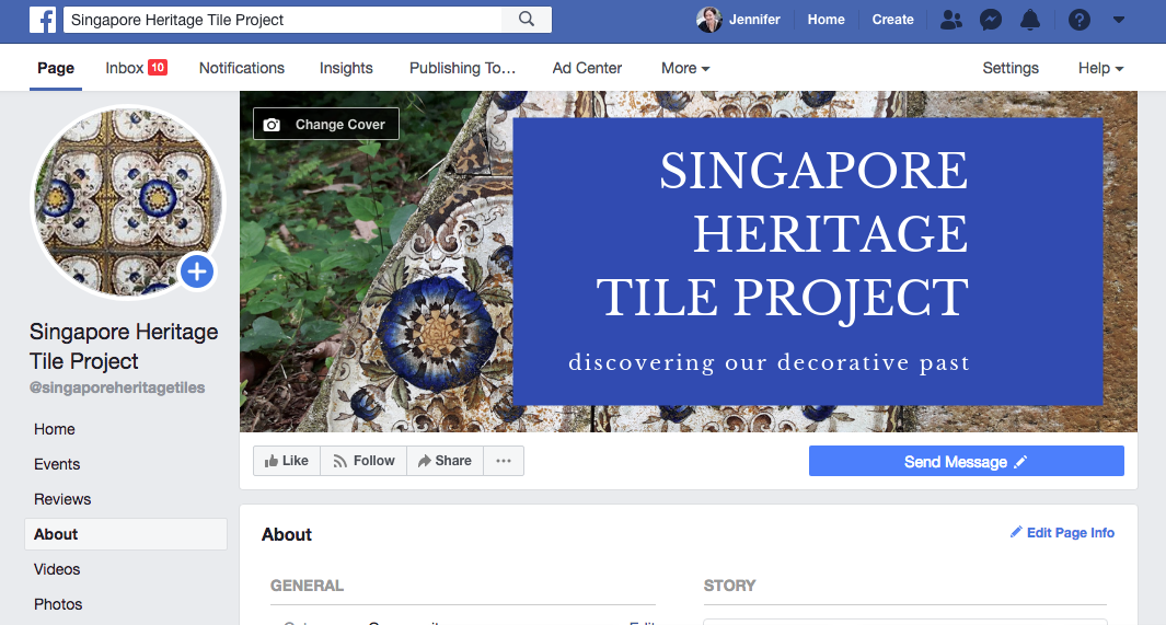 Come and visit the new Facebook page!