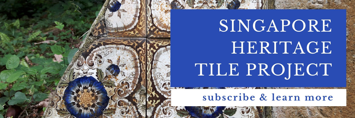 Check out my new project to uncover Singapore's decorative tiles of the past!