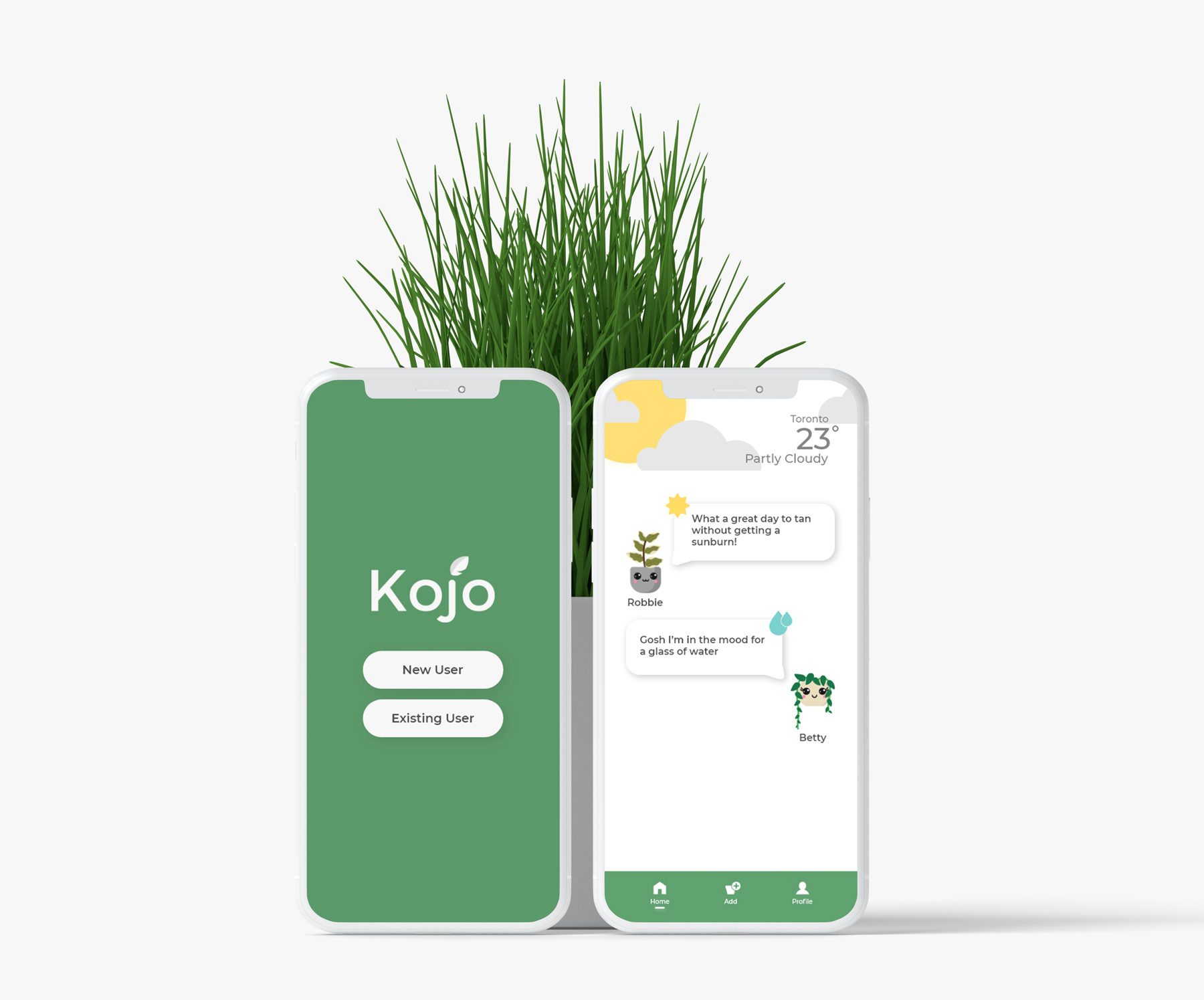 Kojo - Make your plants your friends