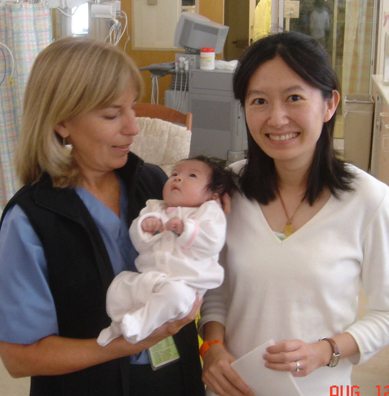 Harumi's primary nurses Tanya Walling and Pat Carter, were wonderful, along with her doctors.