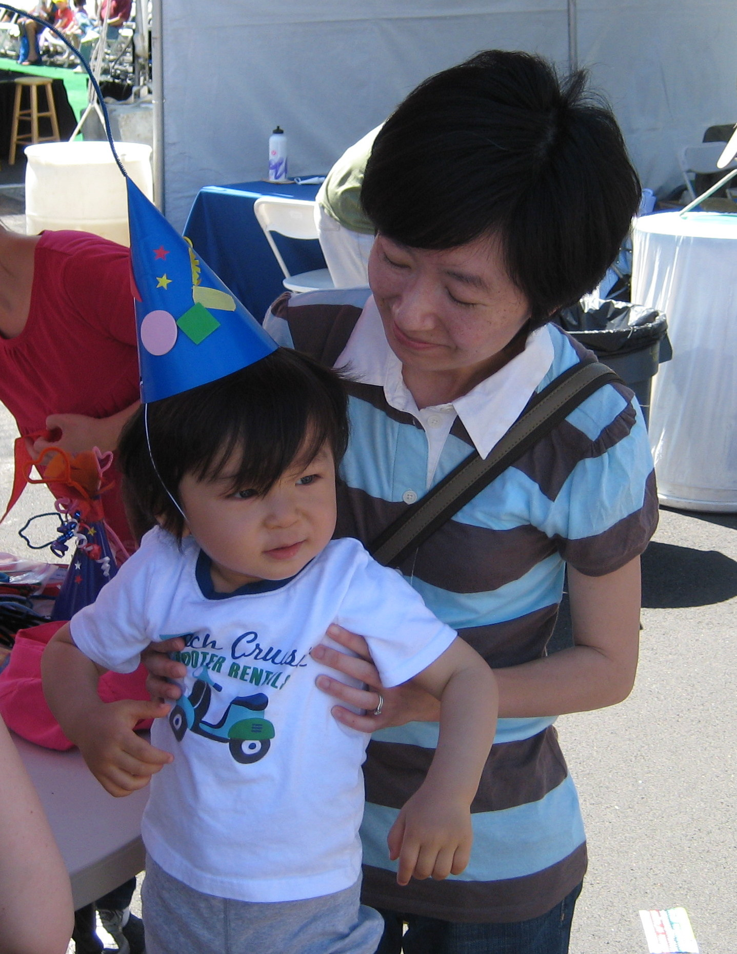 We were at the inaugural Summer Scamper with baby Haruto in 2011, celebrating Harumi and Lucile Packard Children's Hospital's birthdays.