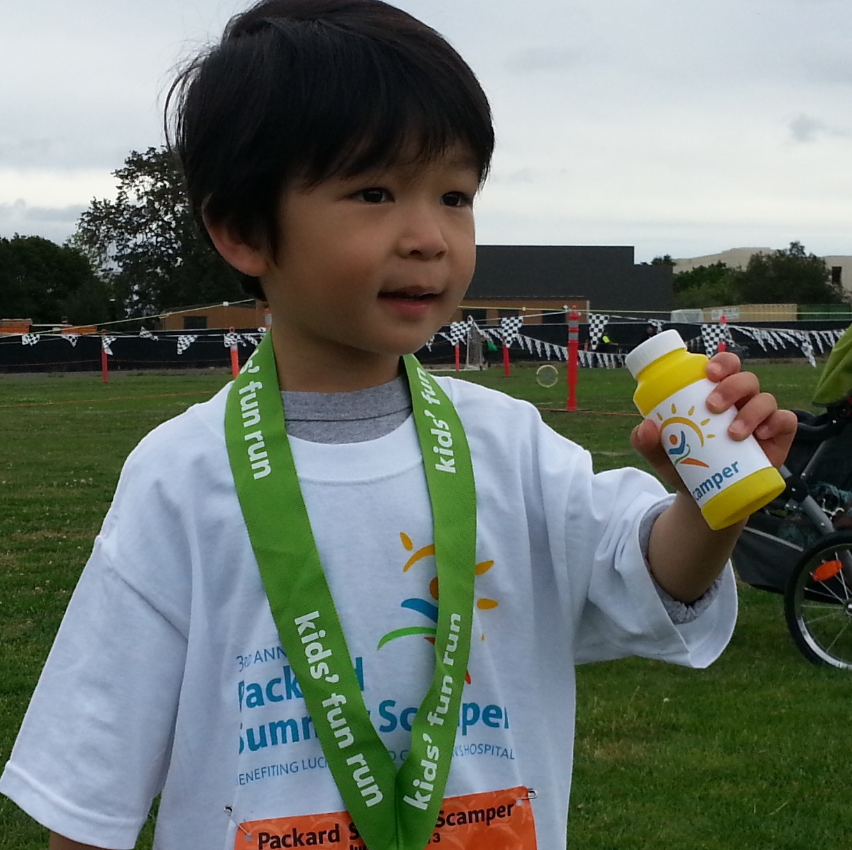 Back at Summer Scamper again in 2013, with Haruto participating in the Kids' Fun Run for the first time.