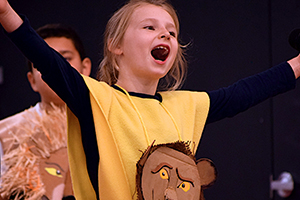 LILI, 8, Menlo Park: doesn't let spina bifida keep her off the stage