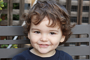 KAI, 3, Los Gatos: A NICU graduate who loves to play Legos with his brother