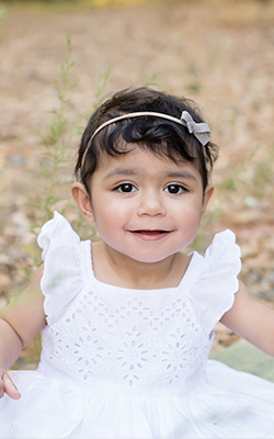Noor, 18 months, Transplant Research