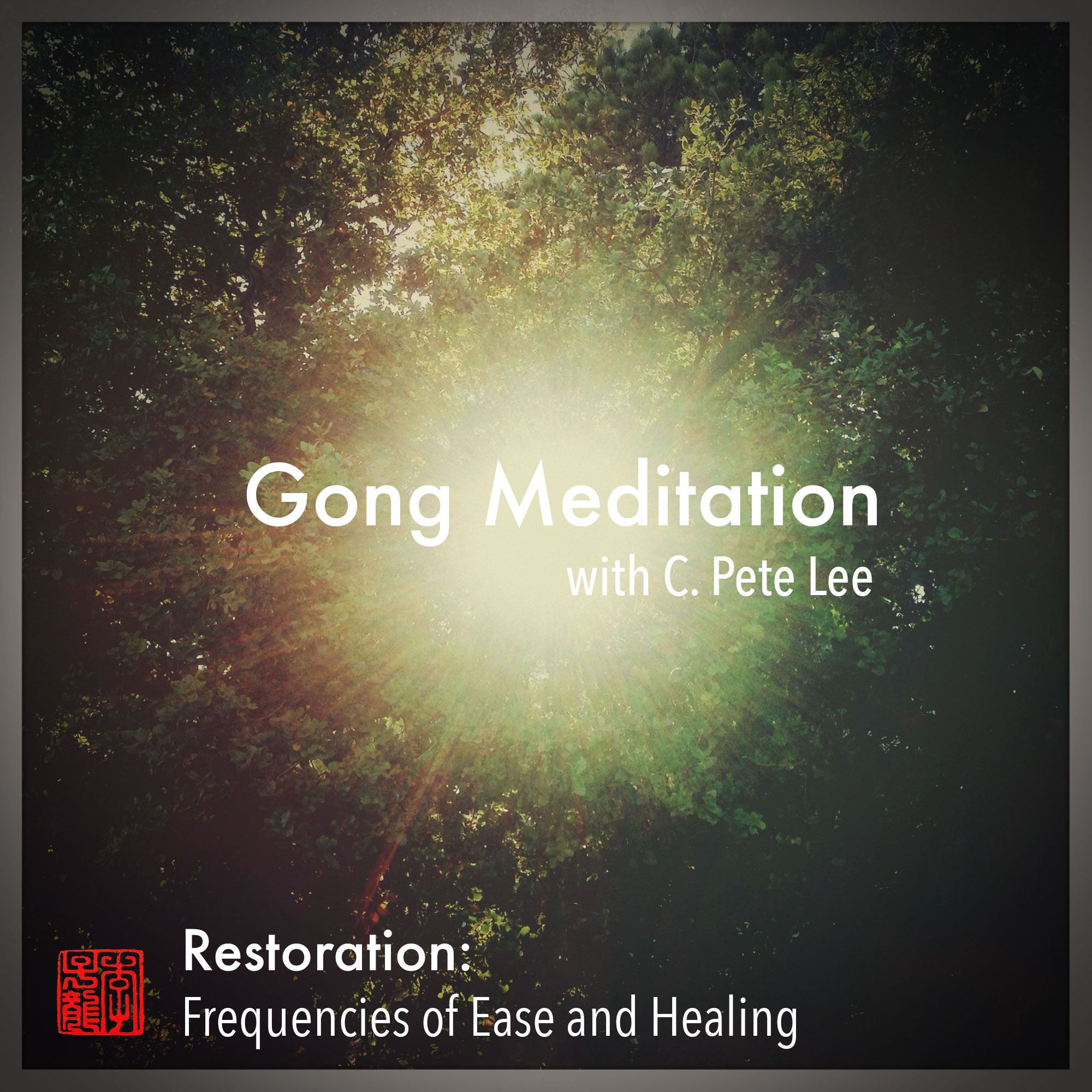 Gong Meditation CD cover