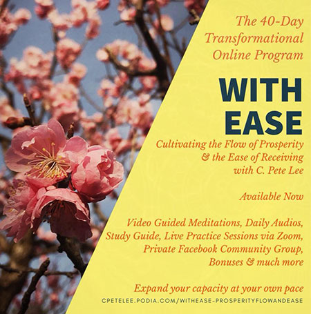 With Ease Transformational Program Flyer