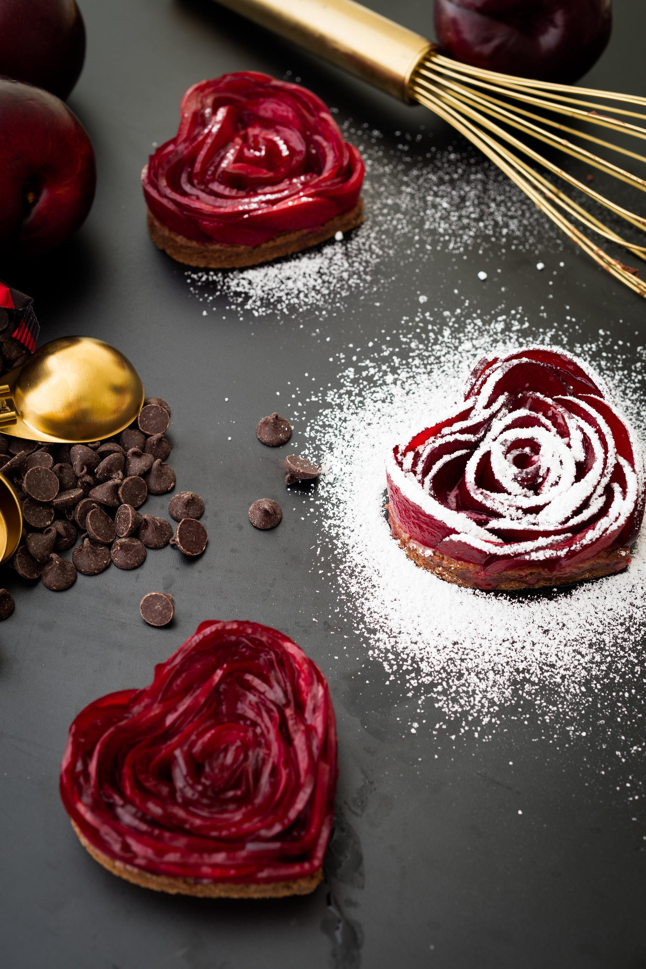 Mulled Wine Plum Rose Tarts 3.jpg