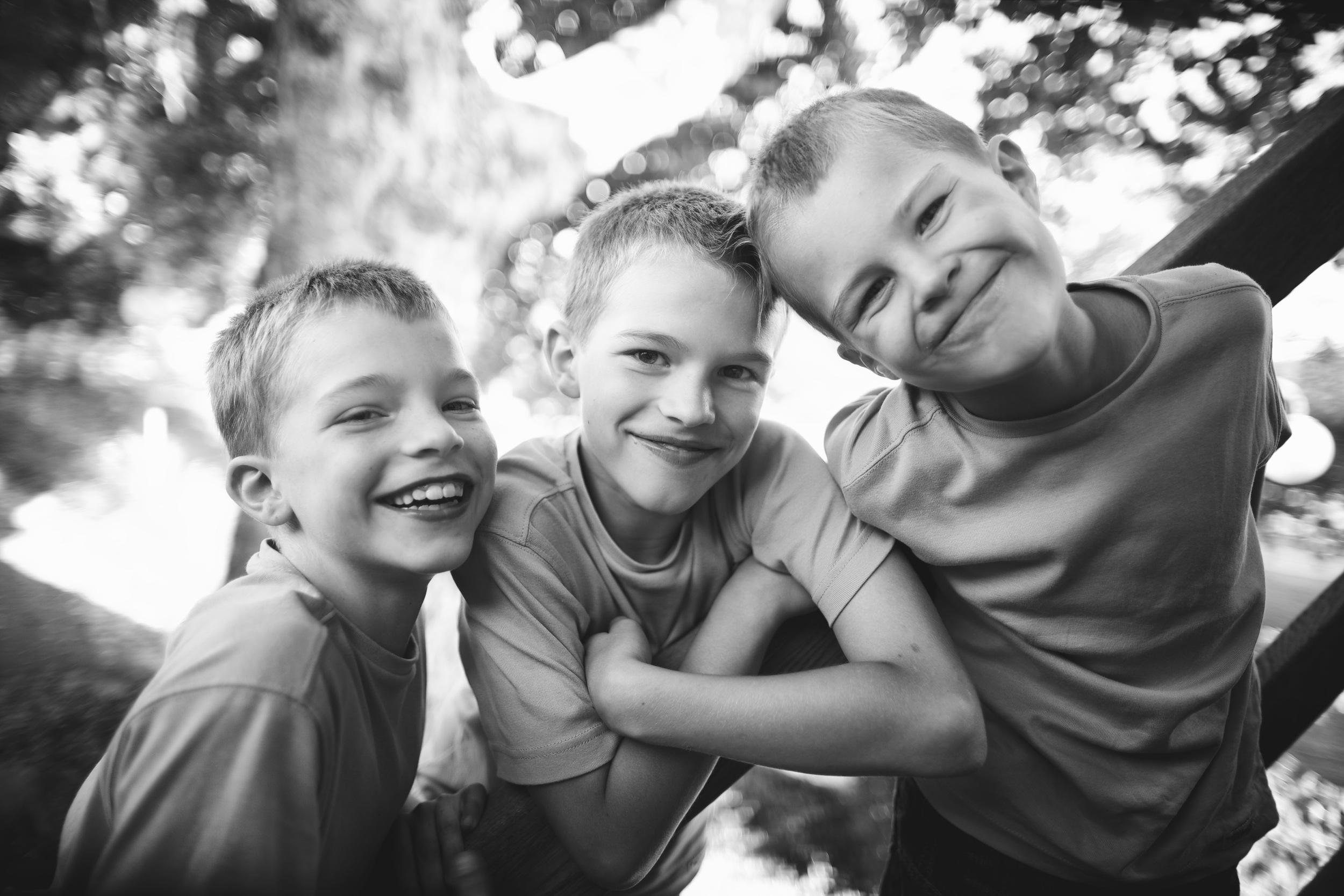 Geschwisterfotos und Familienfotos in Landshut