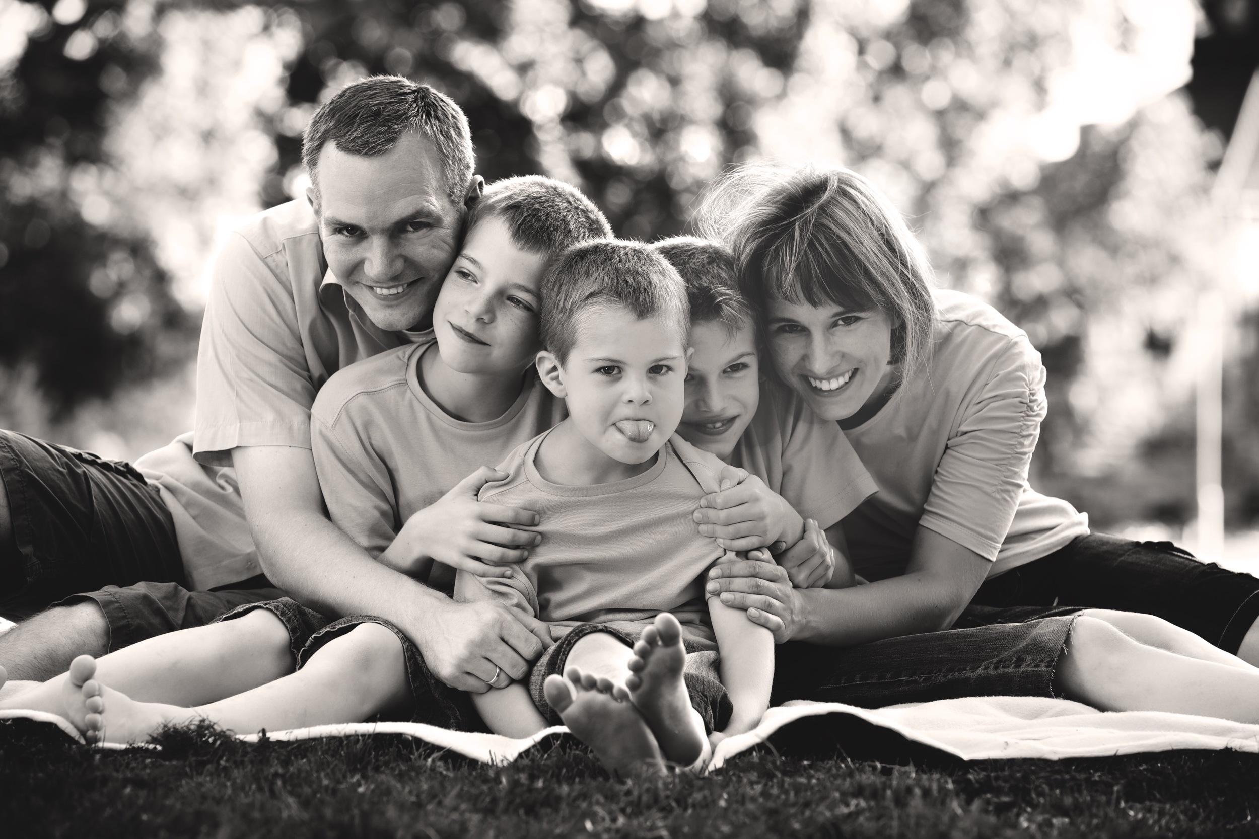 Familienbilder in Landshut