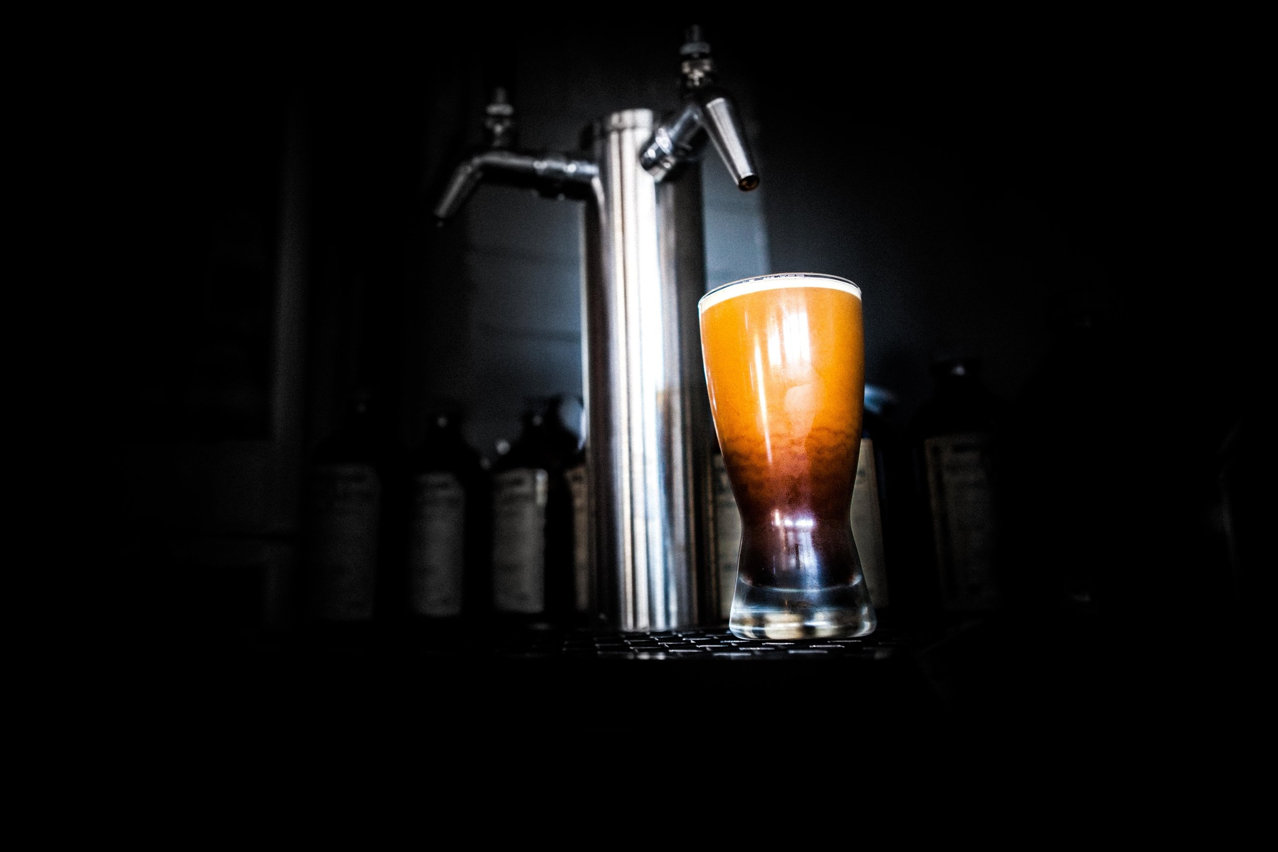 nitro infused cold brew