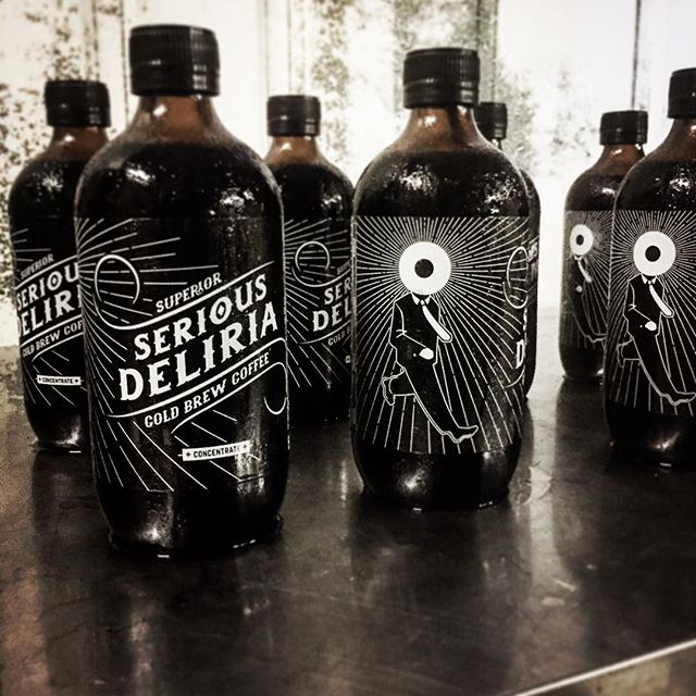 The debut of our new label down @carriageworksfarmersmarket today... let us help with caffeinated relief.. #riseandshine #caffeinefiend #coldbrewcoffee