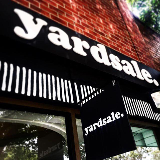 Find us here @yardsaletradingco anytime you like... #riseandshine #coldbrewcoffee #onpoint👌