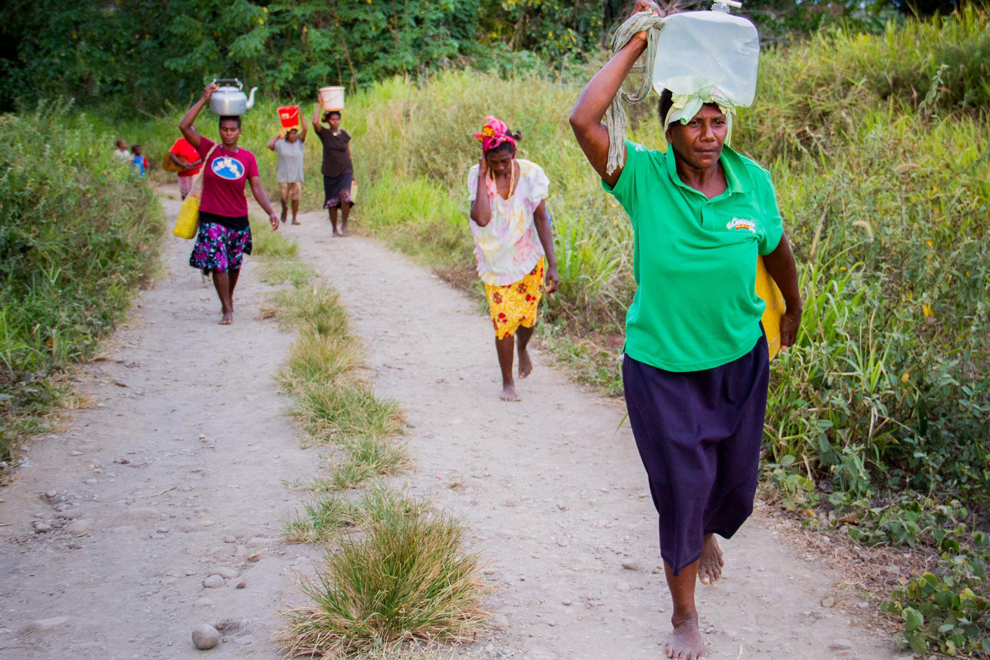 Water Collection - Guadalcanal, Solomon Islands