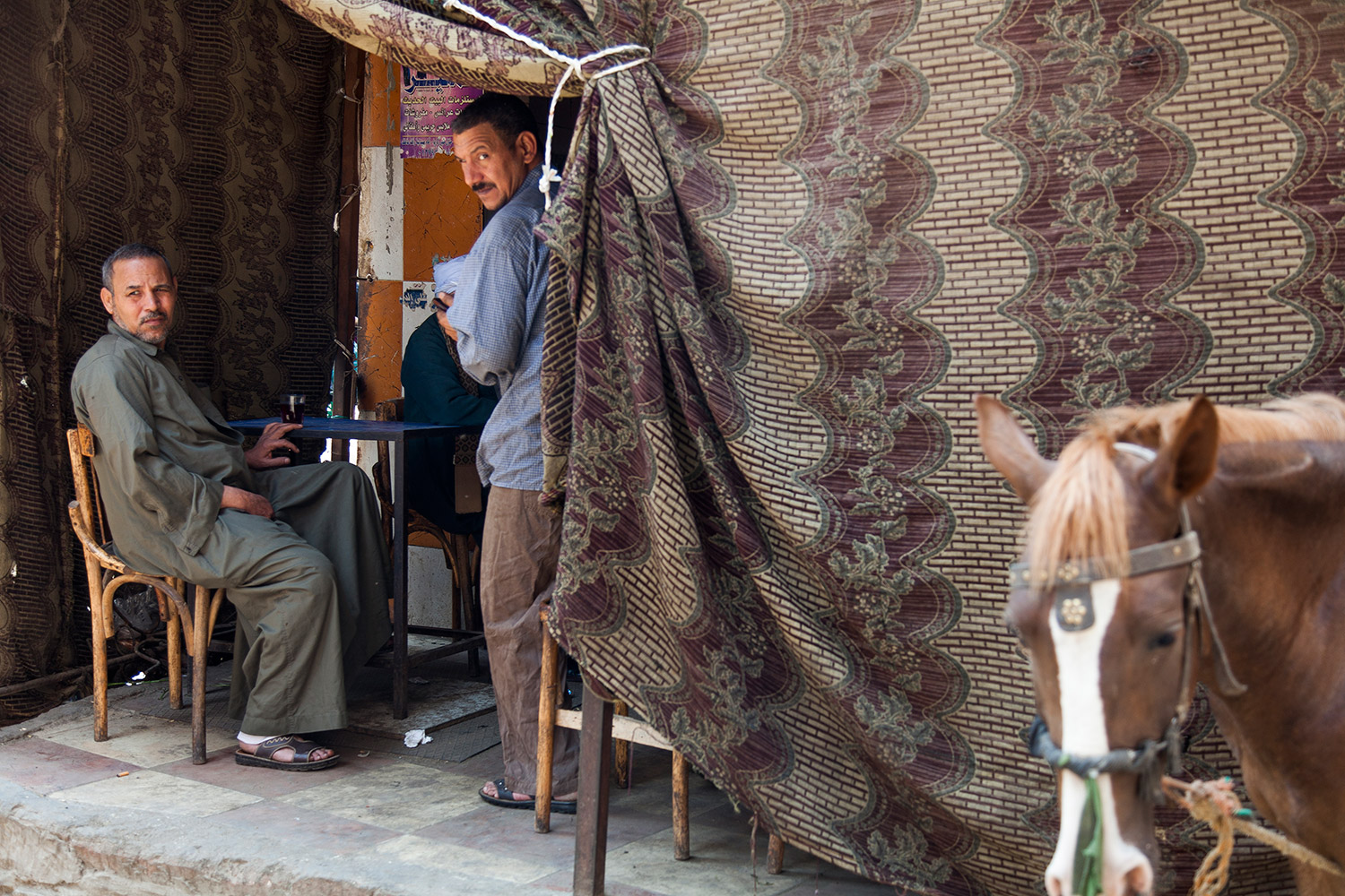 Tea Stand in Cairo