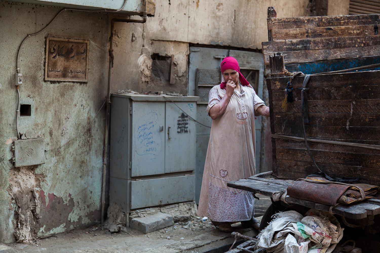 Woman in Muqattam