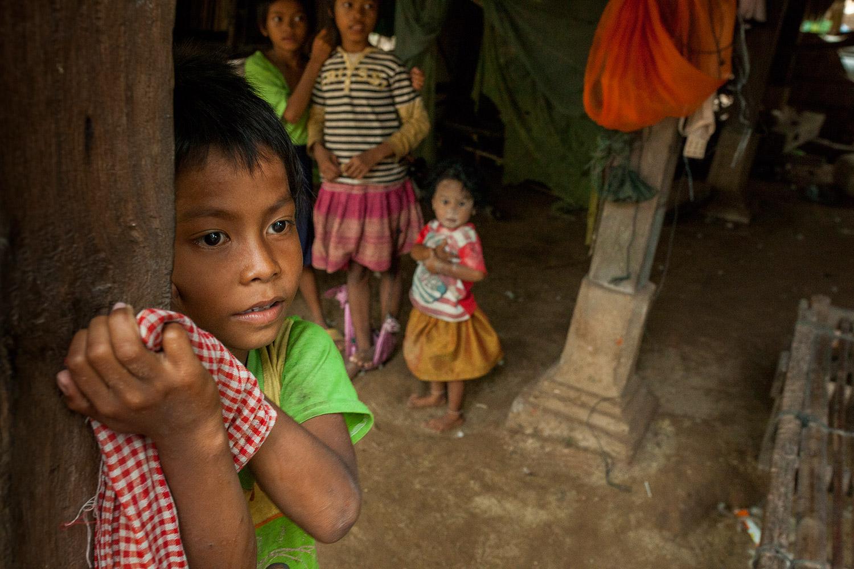 A Village boy in Cambodia
