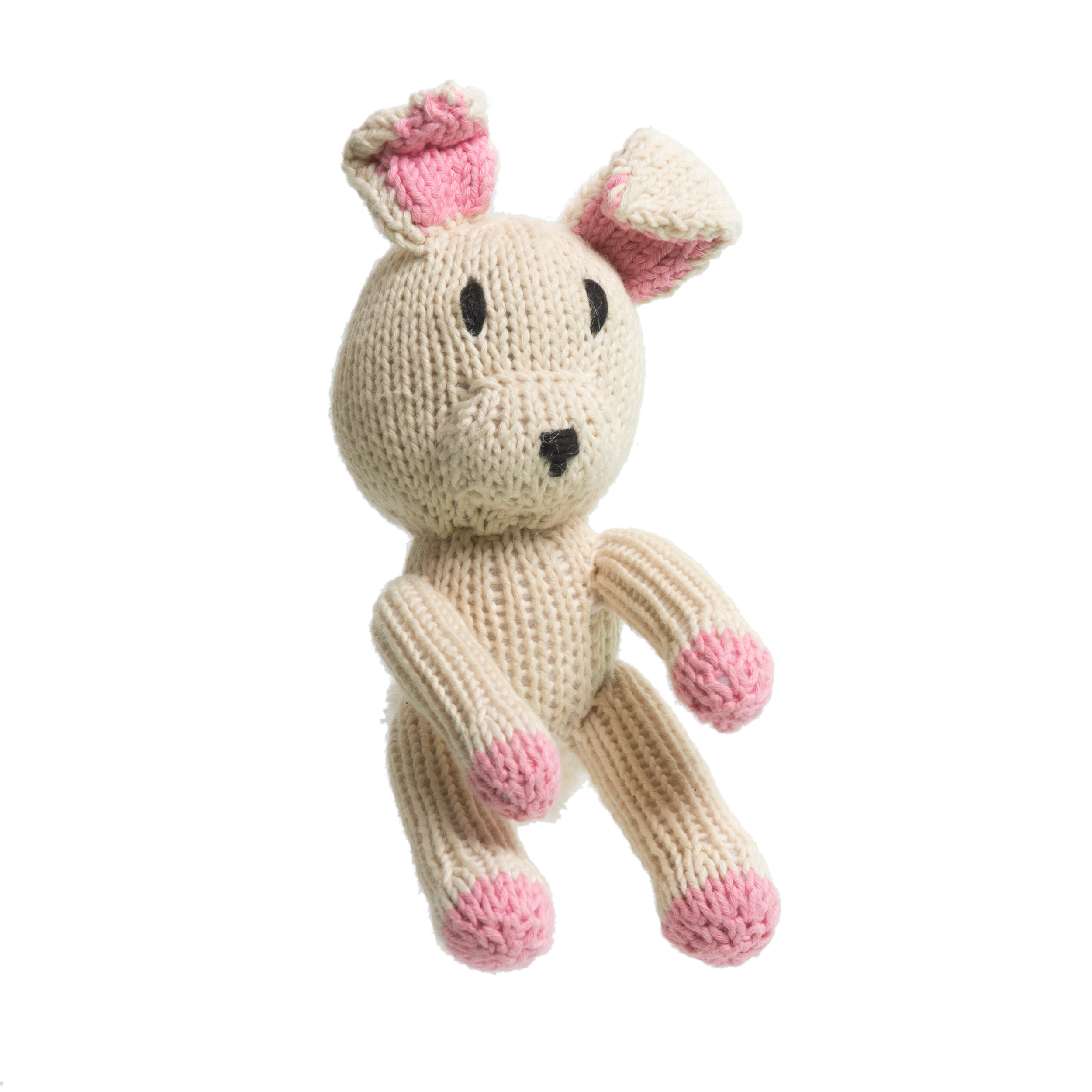 Organic Cotton Rascal Bunny - 12 cm tall